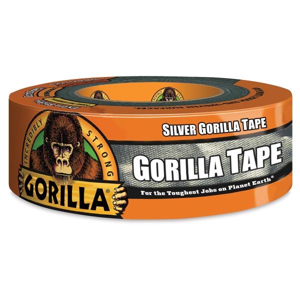"Gorilla Tape, Silver, 1.88"" × 12 yd"