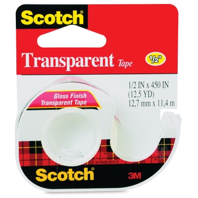 "Transparent Tape, ½"" W"