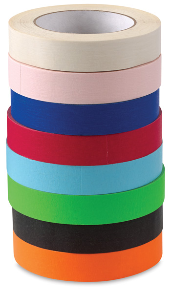 Colored Masking Tape Class Pack, Pkg of 8 rolls