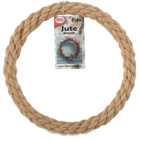 Natural Jute Rope Wreath