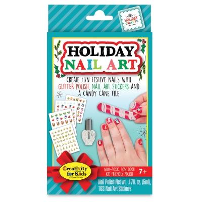 Faber Castell Creativity For Kids Holiday Nail Art Mini Kit Blick