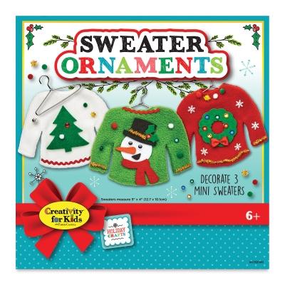 Faber Castell Creativity For Kids Sweater Ornaments Kit Blick Art