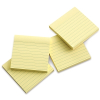 Super Sticky Notes, Pkg of 4