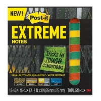Extreme Notes, Pkg of 12Assorted Colors