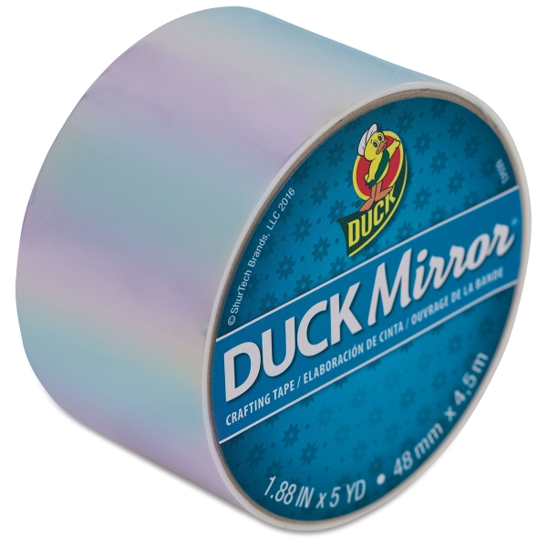 "Mirror White, 1.88"" × 5 yd"