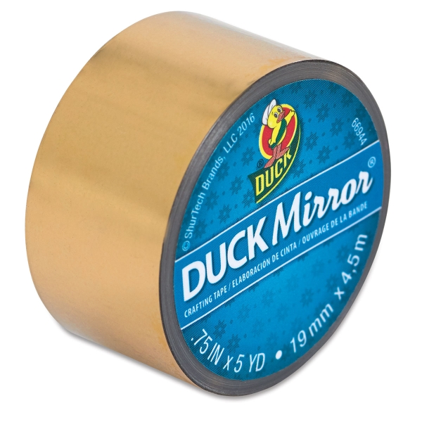 "Mirror Gold, 0.75"" × 5 yd"
