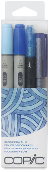 Blue, Set of 4