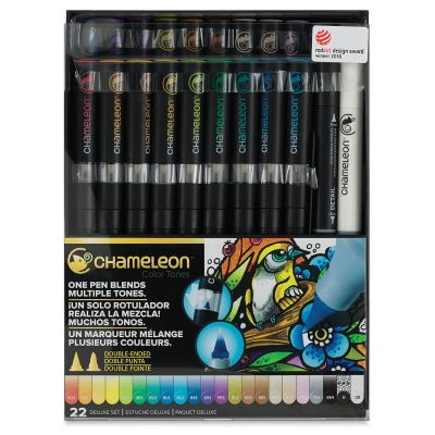 Deluxe Tones Markers, Set of 22