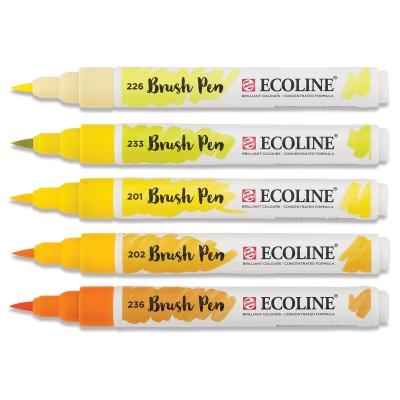 Yellow Hues, Set of 5