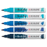 Blue Hues, Set of 5