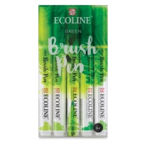 Green Hues, Set of 5