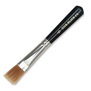 Gold Nylon Paste Brush