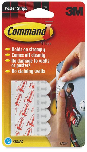 Adhesive command strip
