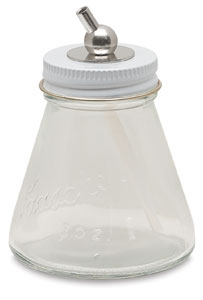 Glass Bottle (complete assembly), 3 oz