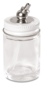 Screw-on Glass Bottle, 1 oz