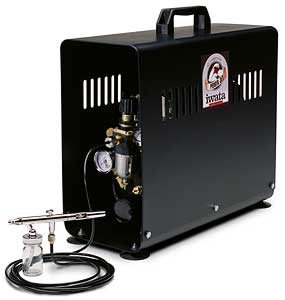 Power Jet Studio Compressor (Airbrush Sold Separately)