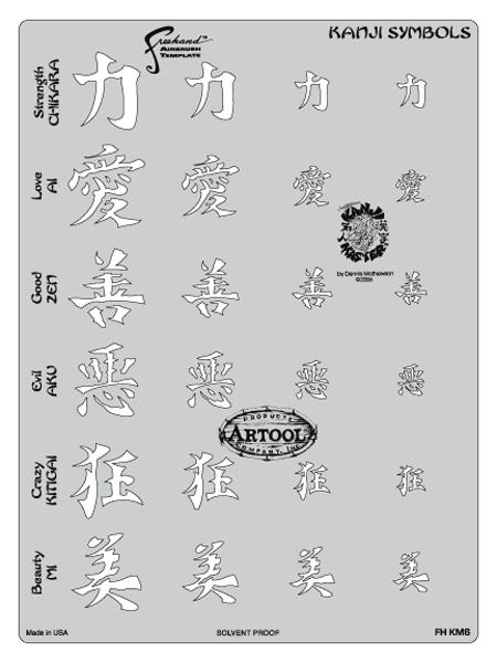 Kanji Master Kanji Symbols Template