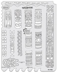Tiki Master Totem Tiki Template