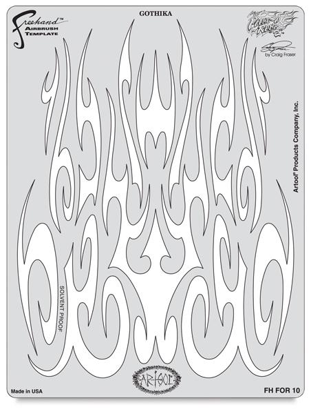 Flame-O-Rama 2 Gothica Template