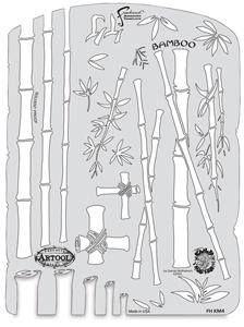 Kanji Master Bamboo Template