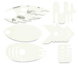 Metropolis Templates, Set of 6