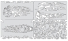 Skullophenia Nano Templates, Set of 4