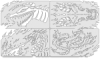 Draco Nano Templates, Set of 4