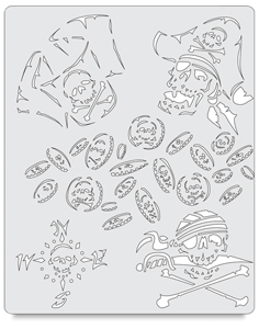 Curse of the Skull Master Buccaneer Template