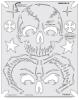 Return of Skull Master Frontal II Template