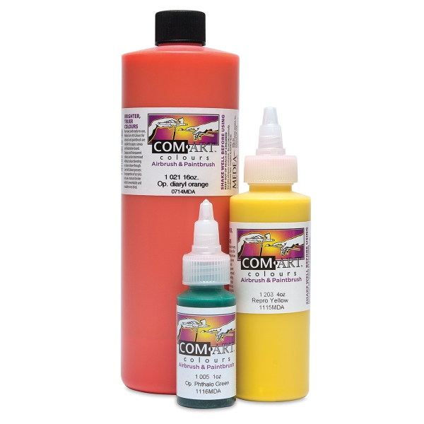Com-Art Airbrush Colors