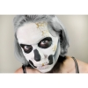 Skull Makeup Kit Example of Use