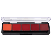 Lip Palette, 5 Well Red