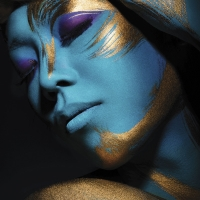 Graftobian F/X Aire Airbrush Face and Body Makeup, Example Artwork, (photo by David Arnal)