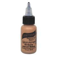 GlamAire Makeup, Burnt Amber, 1 oz