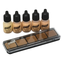 GlamAire Makeup, Warm #2 Sampler