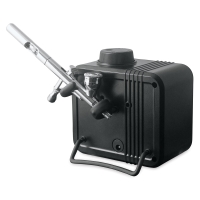Beetle Airbrush Compressor, Example of use. Airbrush not included.