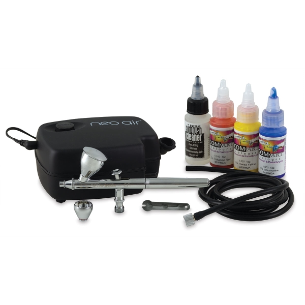 Neo Gravity-Feed Airbrushing Kit