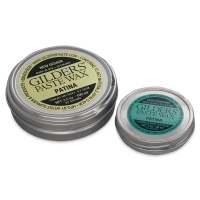 Gilder's Paste Wax, 92 ml and 30 ml sizes shown