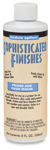 Primer and Clear Sealer