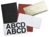 Westcott C-Thru BetterLetter Self-Adhesive Vinyl Letters