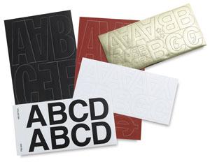 Westcott CThru BetterLetter SelfAdhesive Vinyl Letters BLICK - Self adhesive vinyl letters