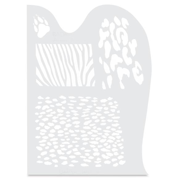 Animalia Stencil