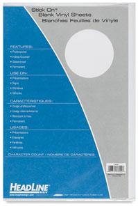 Vinyl Blanks, White