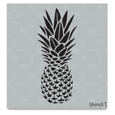 Pineapple Stencil