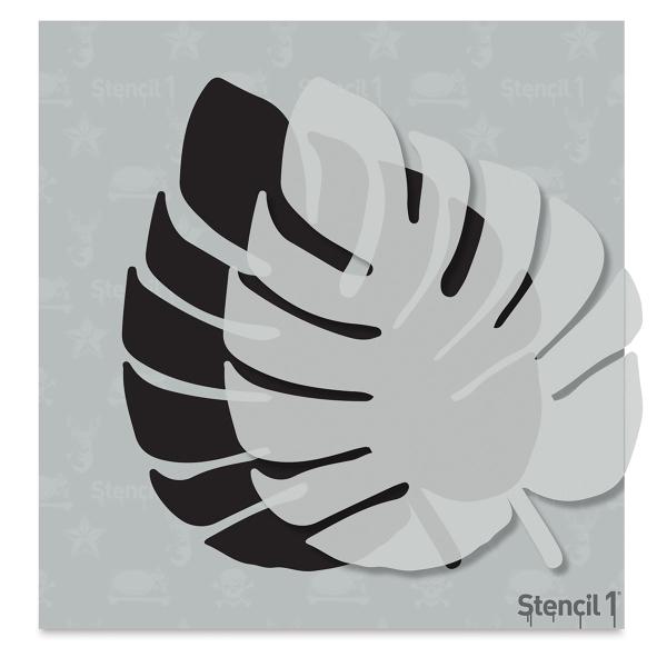 Monstera Stencil, Small