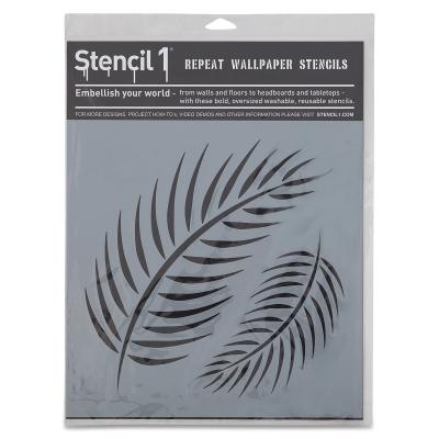 Palm Fronds Stencil, Large