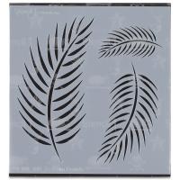 Palm Fronds Stencil, Small