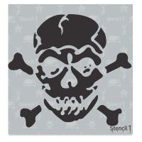 Jolly Roger Stencil