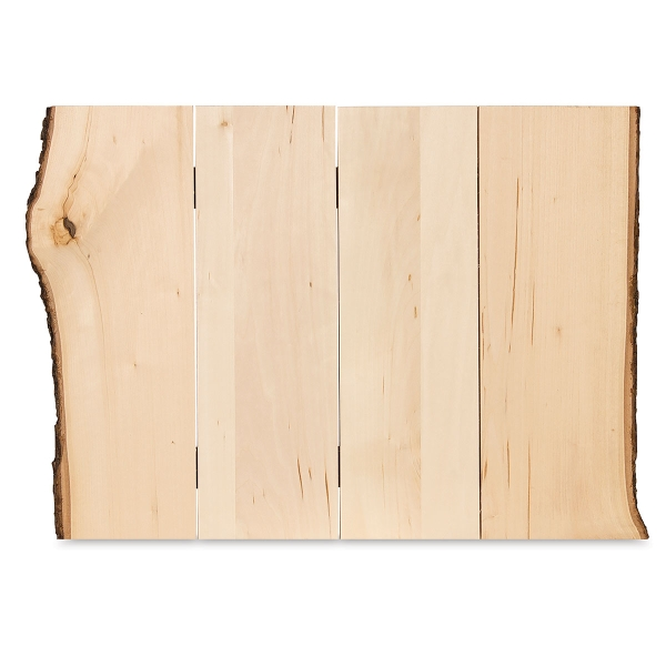 Basswood Bark Edge Panel, Large