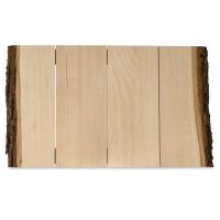 Walnut Hollow Basswood Bark Edge Panels
